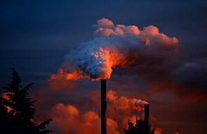 dym fabryka
