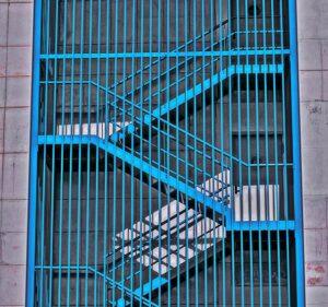 schody ewakuacyjne